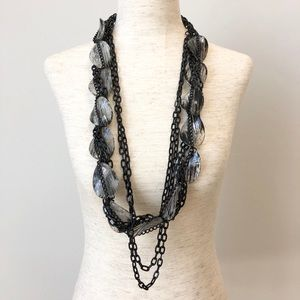 Robert Rodriguez Long Layered Chain Necklace